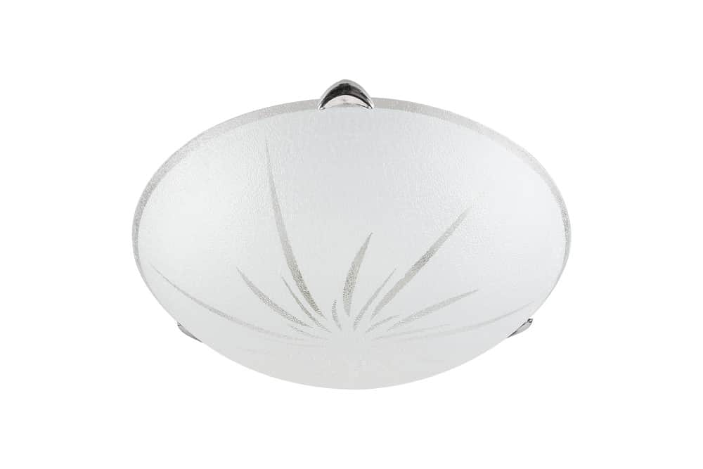 Photo of a flush-mount ceiling light