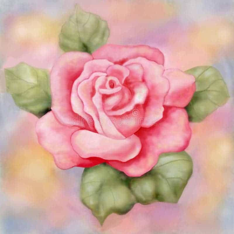Raster painting digital artwork example