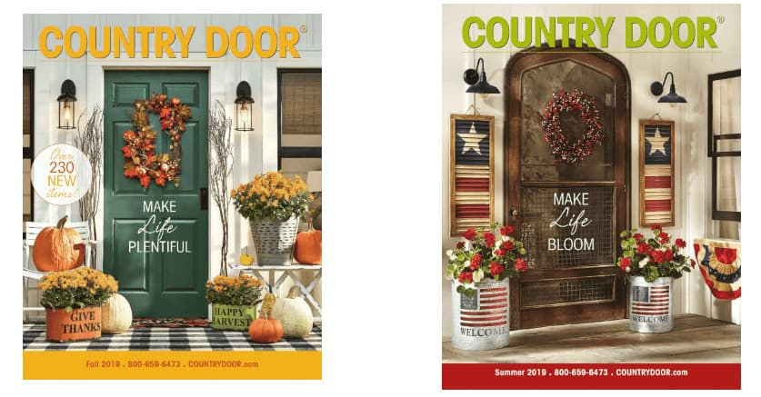 Country Door Catalog Covers