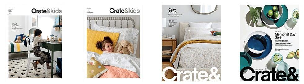 Crate & Barrel Catalog Cover