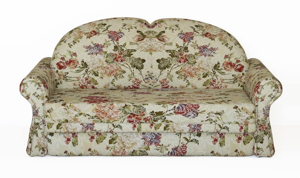 1990s floral pattern sofa