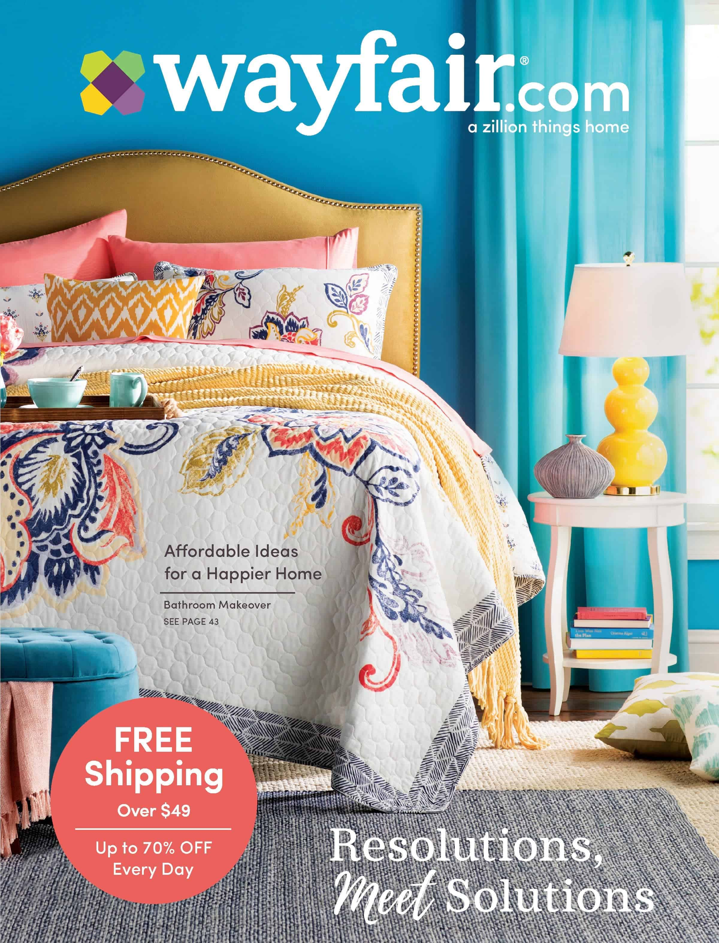 Wayfair catalog cover
