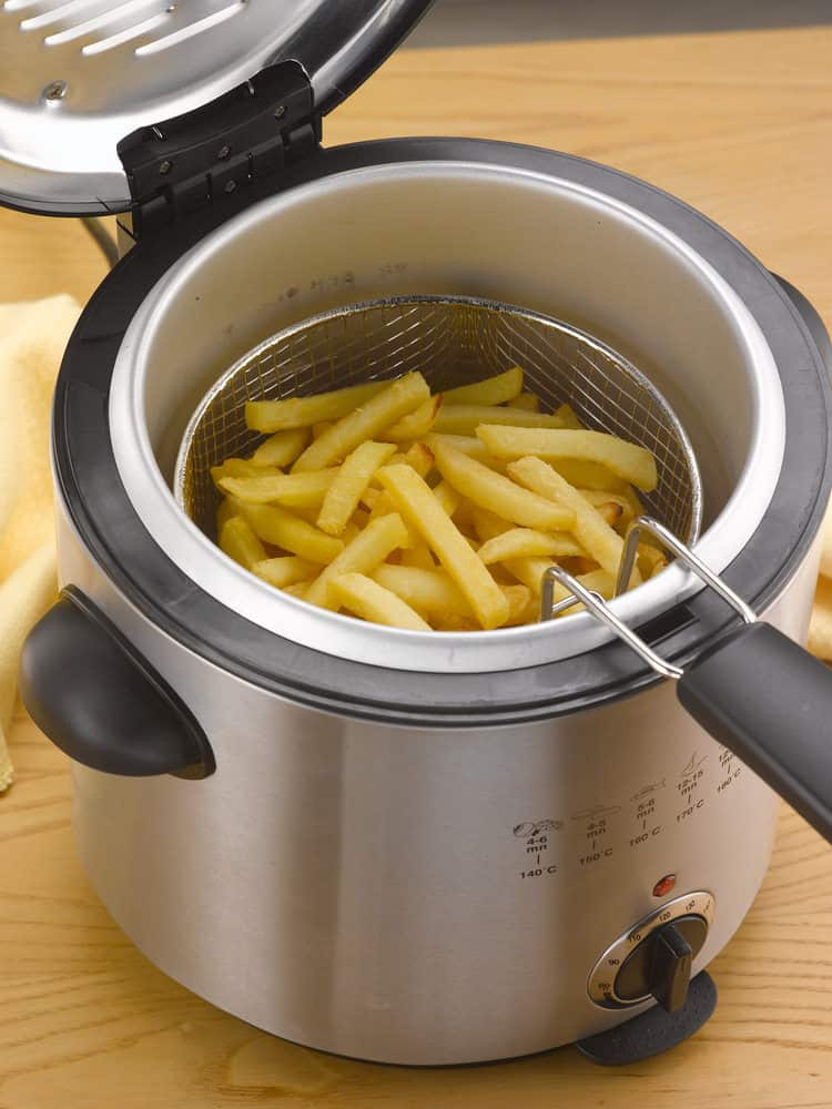 Deep fryer for the home