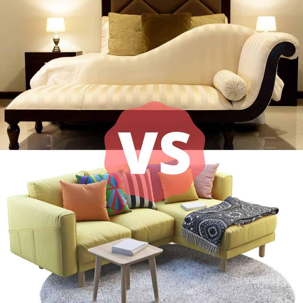 Chaise lounge vs chaise sectional comparison