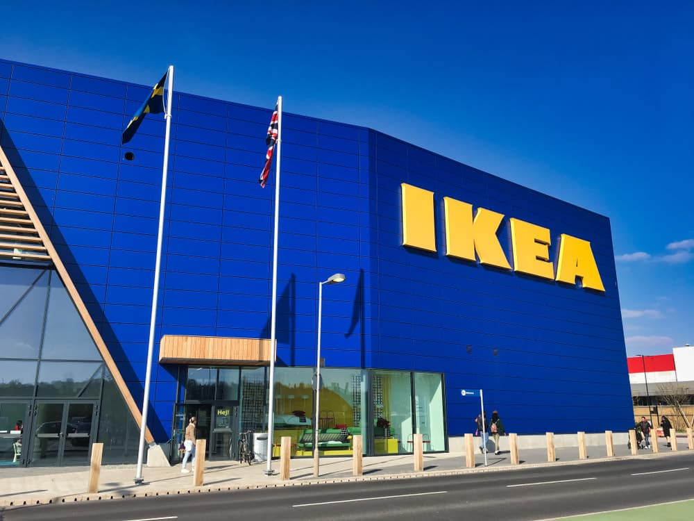 IKEA store exterior in London, England