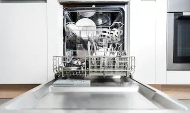 most common dishwasher types
