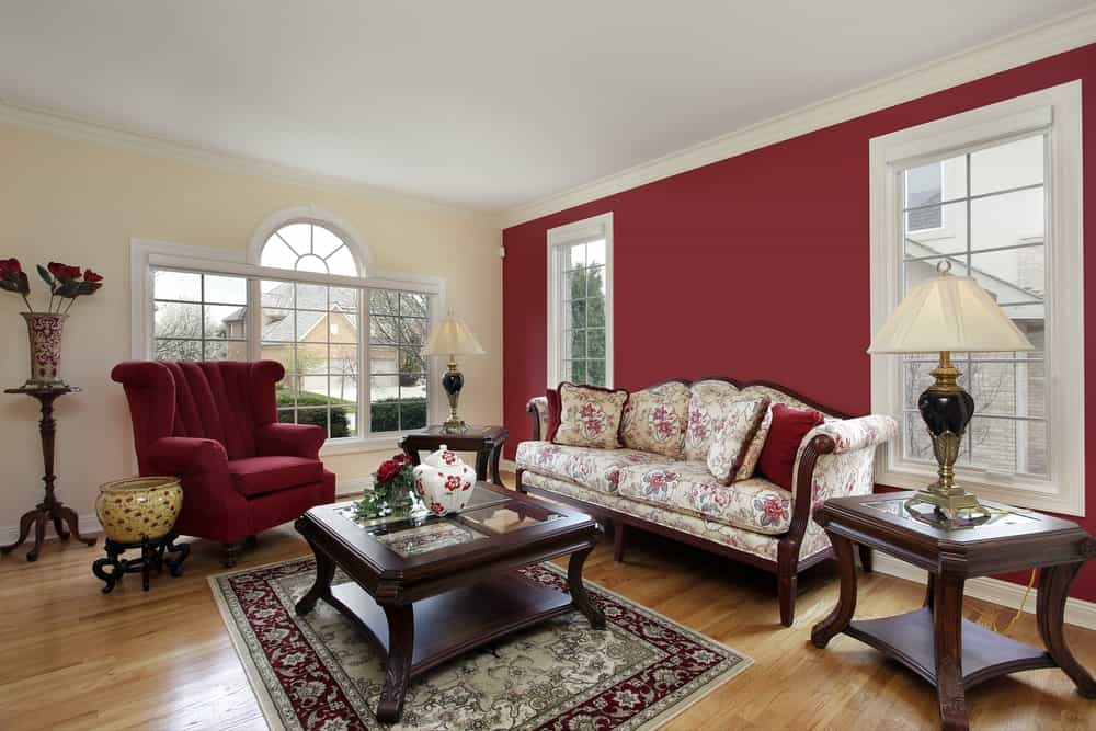 40 Red Living Room Ideas Photos, Red Living Room Furniture