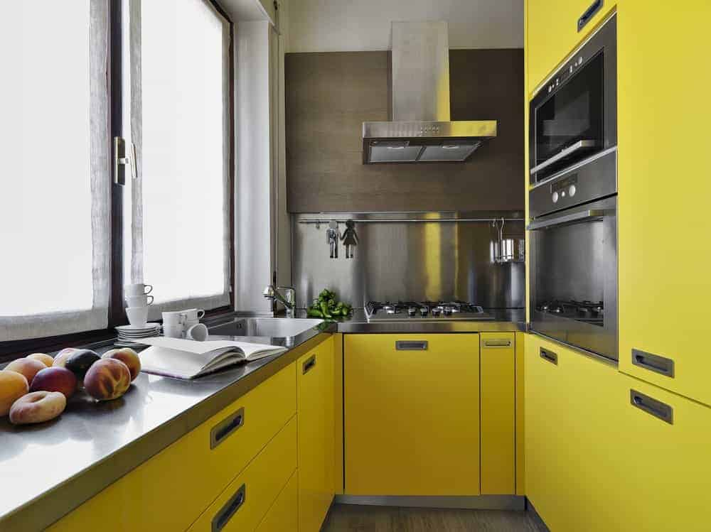 50 Yellow Kitchen Ideas (Photos)