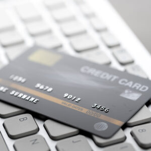 Credit card for online furniture stores