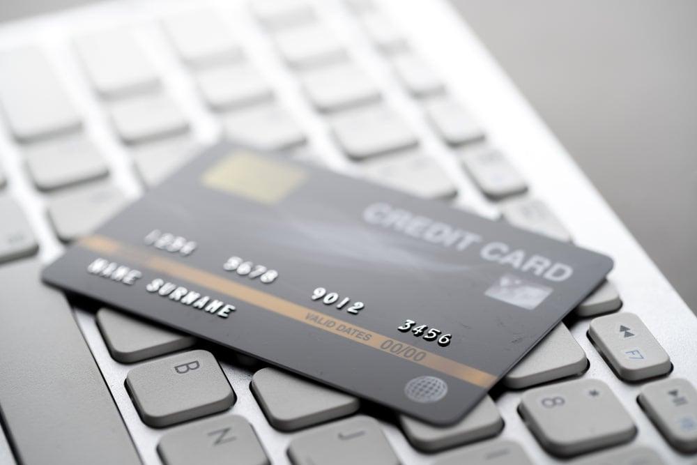Credit card for online furniture stores