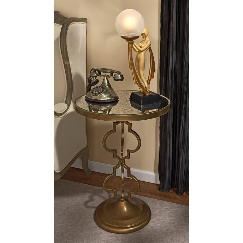 Art deco style bedside table