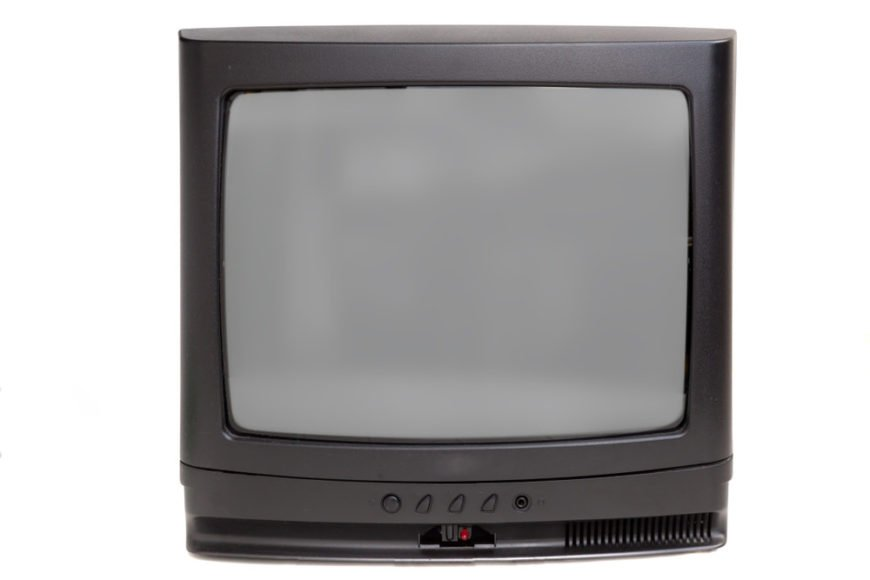 Direct View old school television