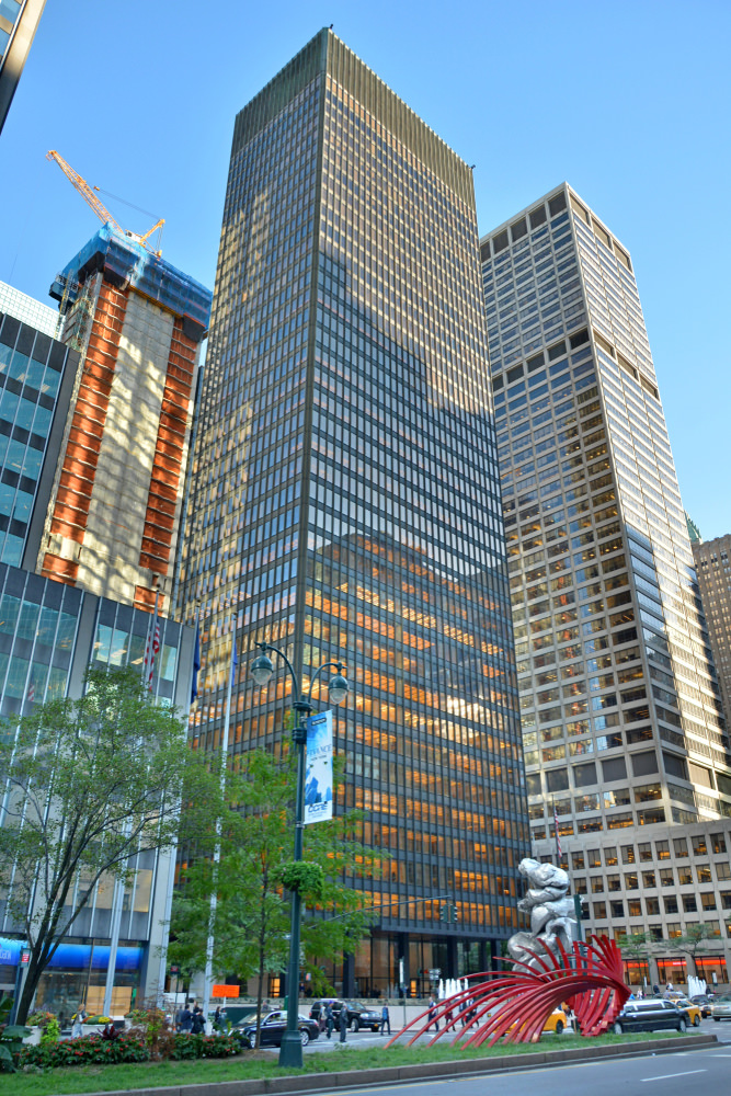 The Seagram Building in NYC