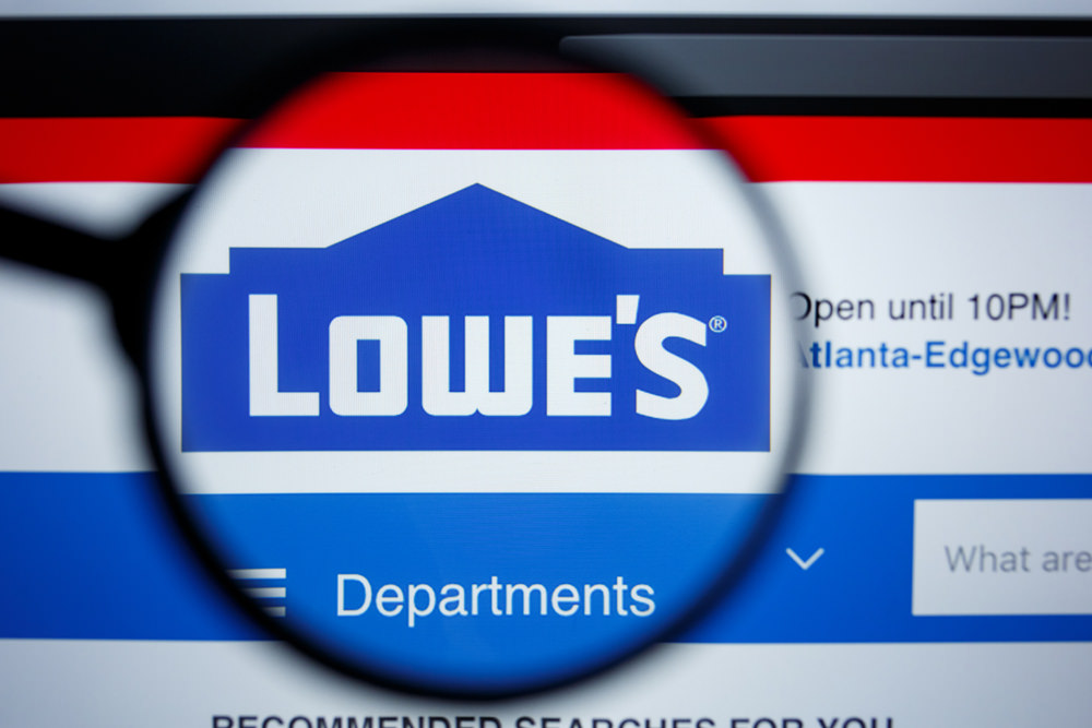 Lowe's Website