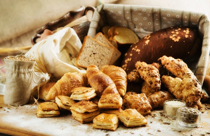 Assortment of delicious baked goods