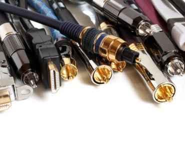 A variety of video cables