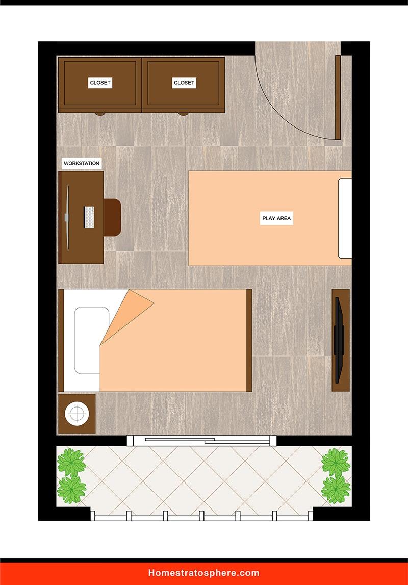 Kids' Bedroom: Cozy Quarters