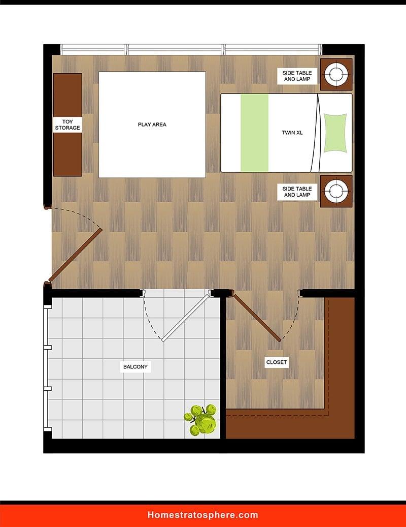 Kids' Bedroom: Grandiose Spaces