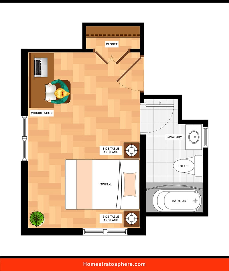 Kids' Bedroom: Spacious Bedroom with En Suite