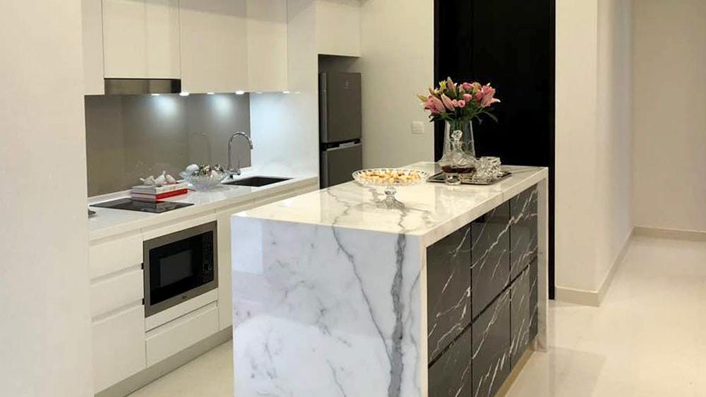 Quarella kitchen quartz countertop