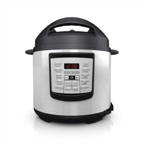 Black+Decker 6-Quart 11-in-1 Cooking Pot Model No. PR100