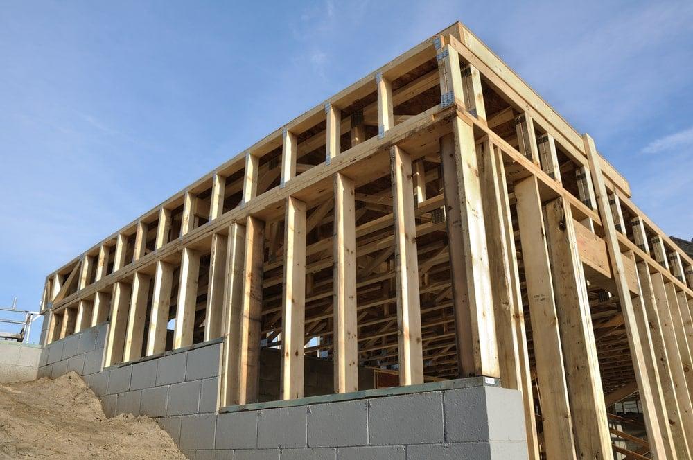 Daylight basement foundation