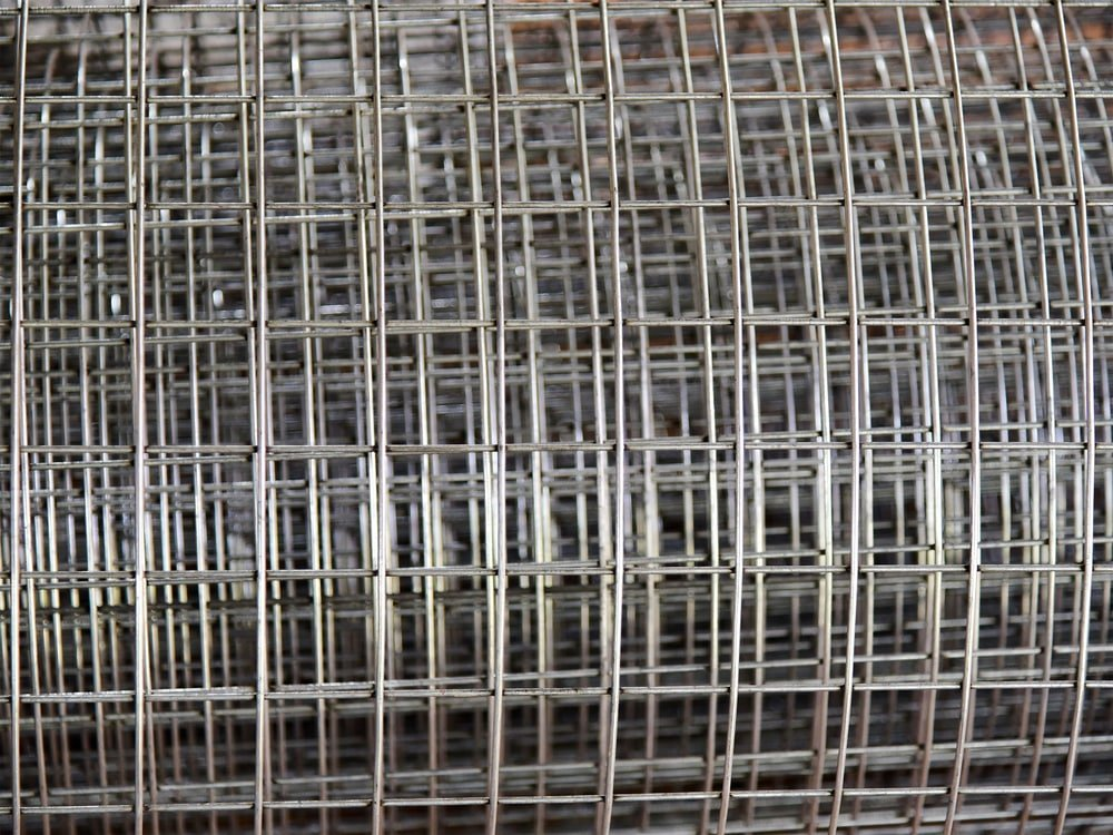 E-coated wire fence