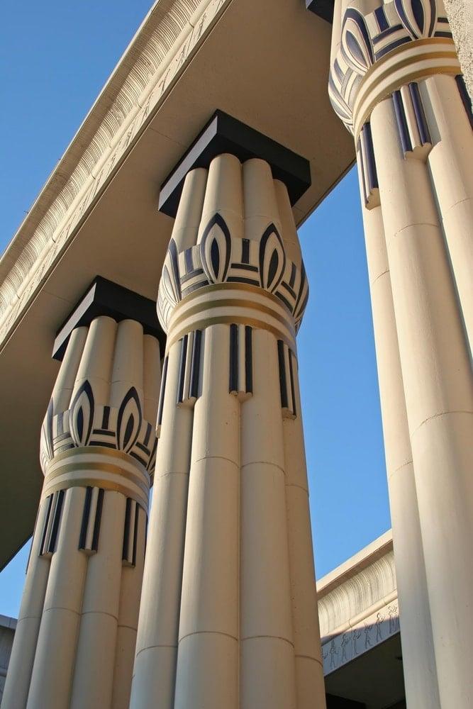 Egyptianesque Columns