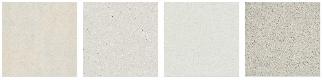 Sample of Granite Transformations quartz countertops for the kitchen.