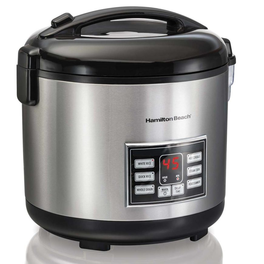 Hamilton Beach 4-20 Cup Rice and Hot Cereal Cooker
