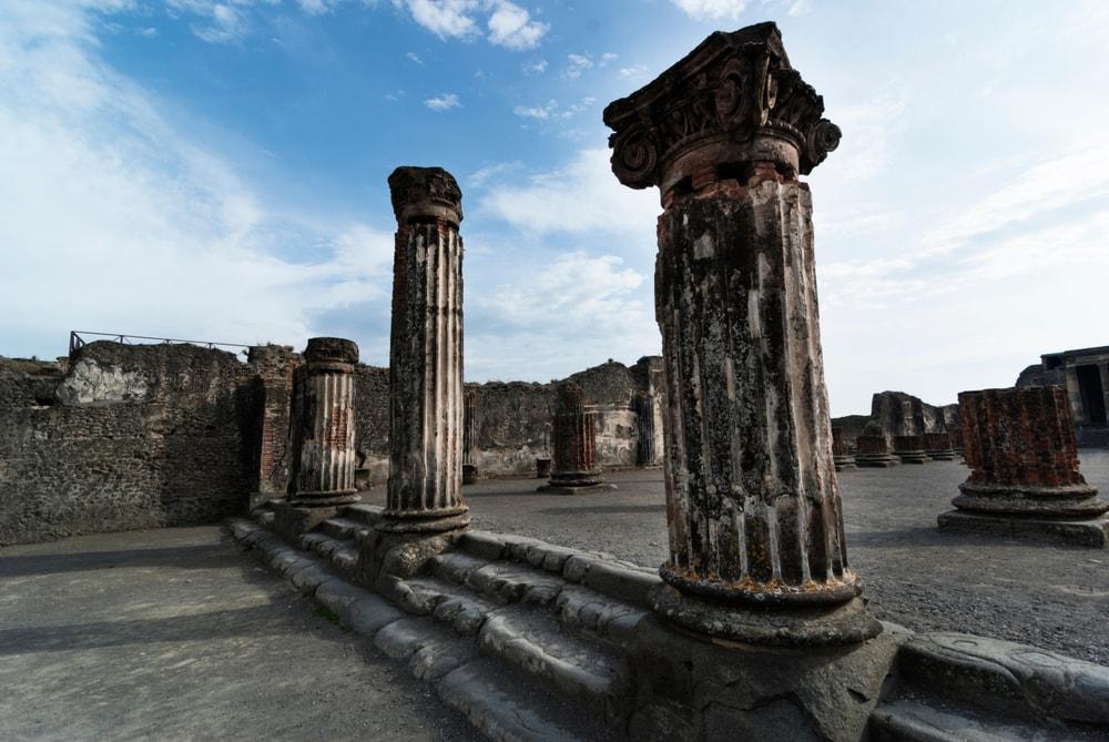Ionic Colums in Pompeii.