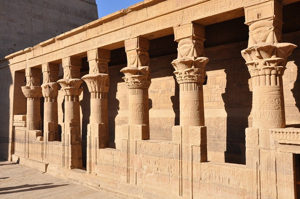 Philae Temple in Egypt.