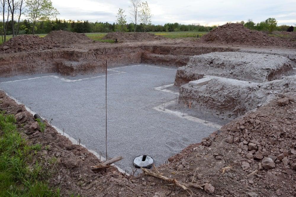 Concrete Cement Foundation Basement