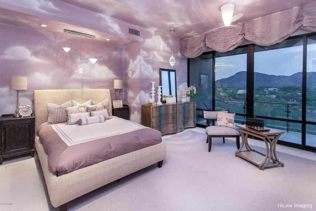 45 Purple Master Bedroom Ideas Photos