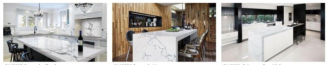 Sample of Quartz Primary quartz countertops for the kitchen.