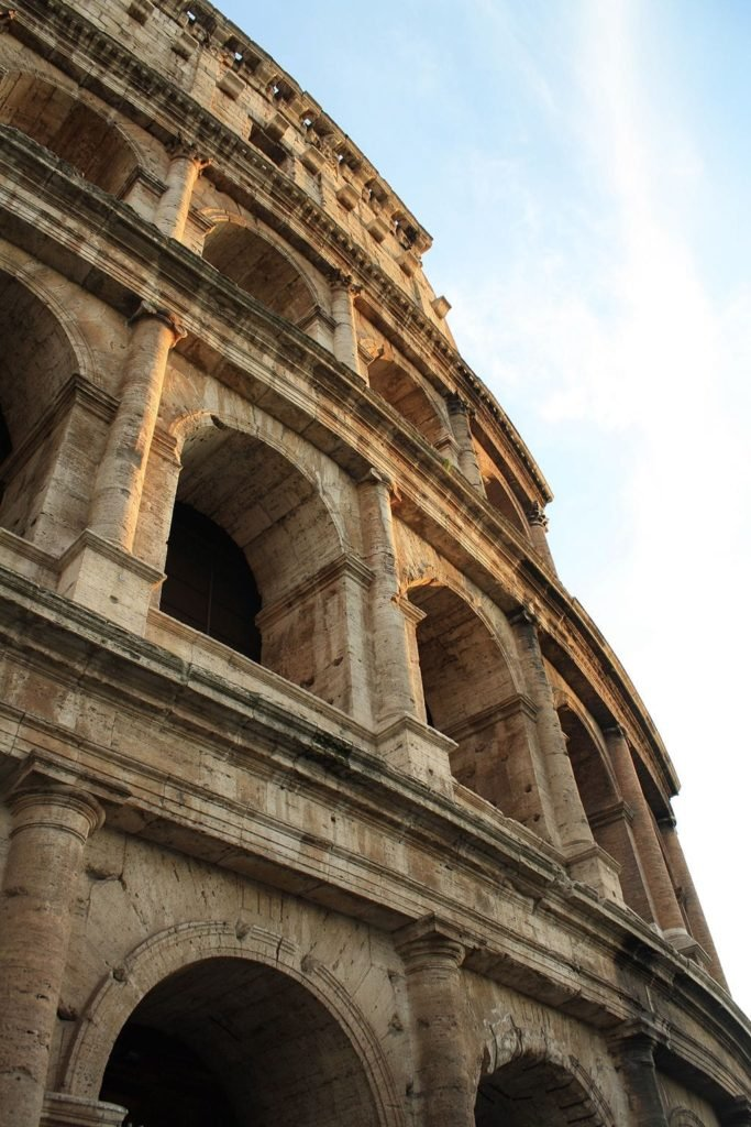 Profile of the Roman Coliseum