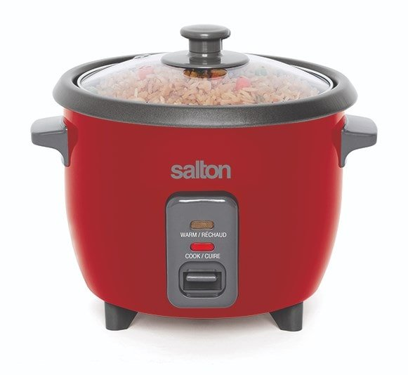 Salton AUTOMATIC RICE COOKER – 6 CUP