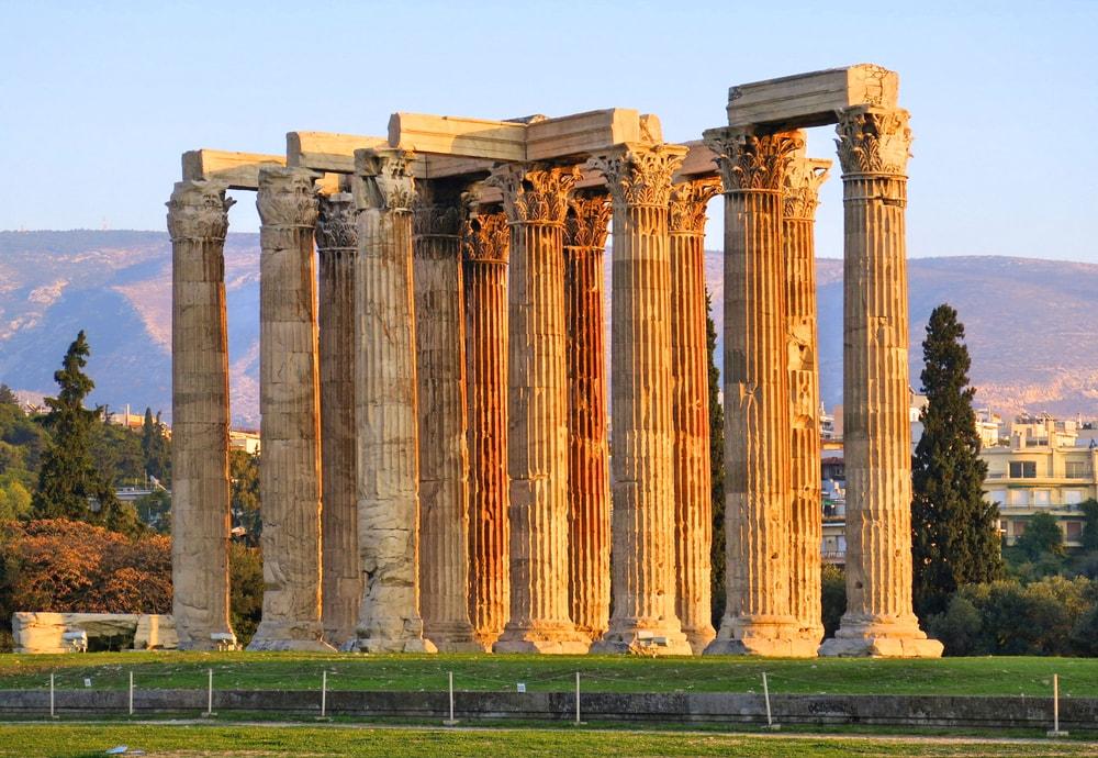 Temple Olympian Zeus Columns