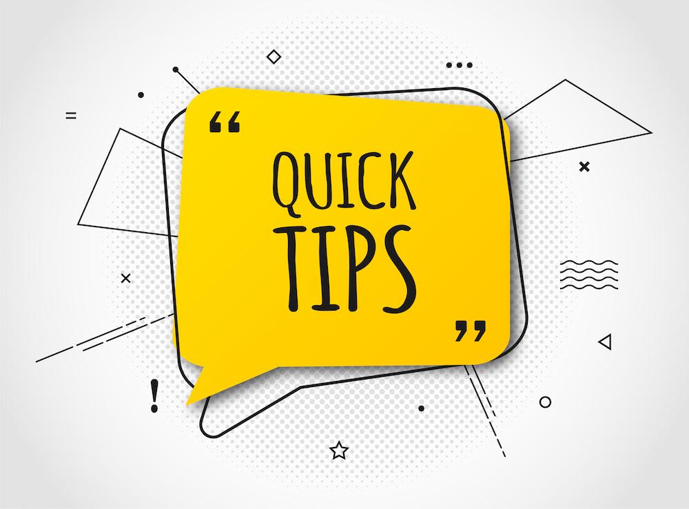 Tips illustration