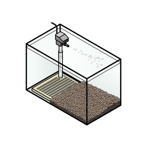 UGF (Under Gravel Filter)