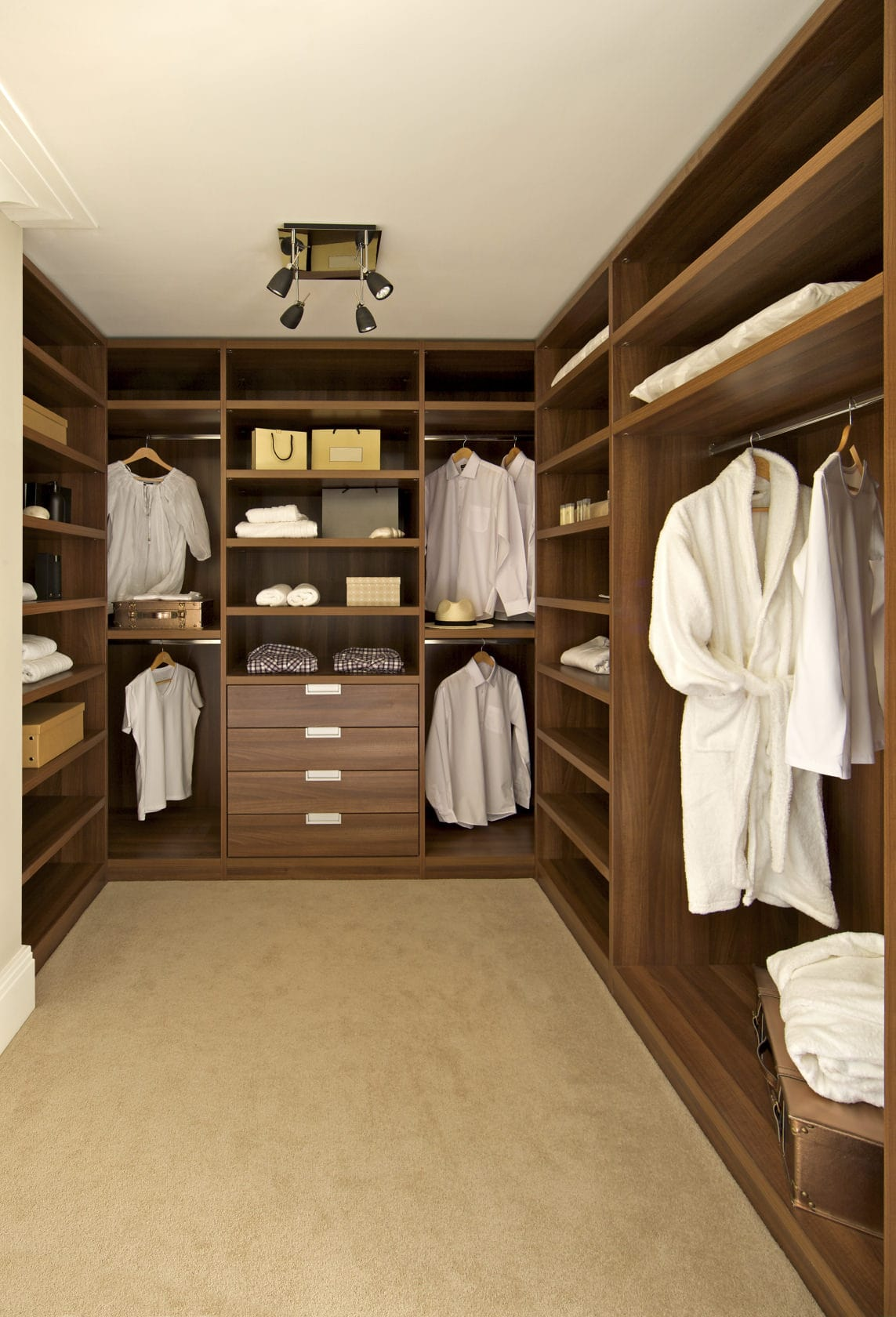 40 Walk In Closets For Men Dark And Luxurious