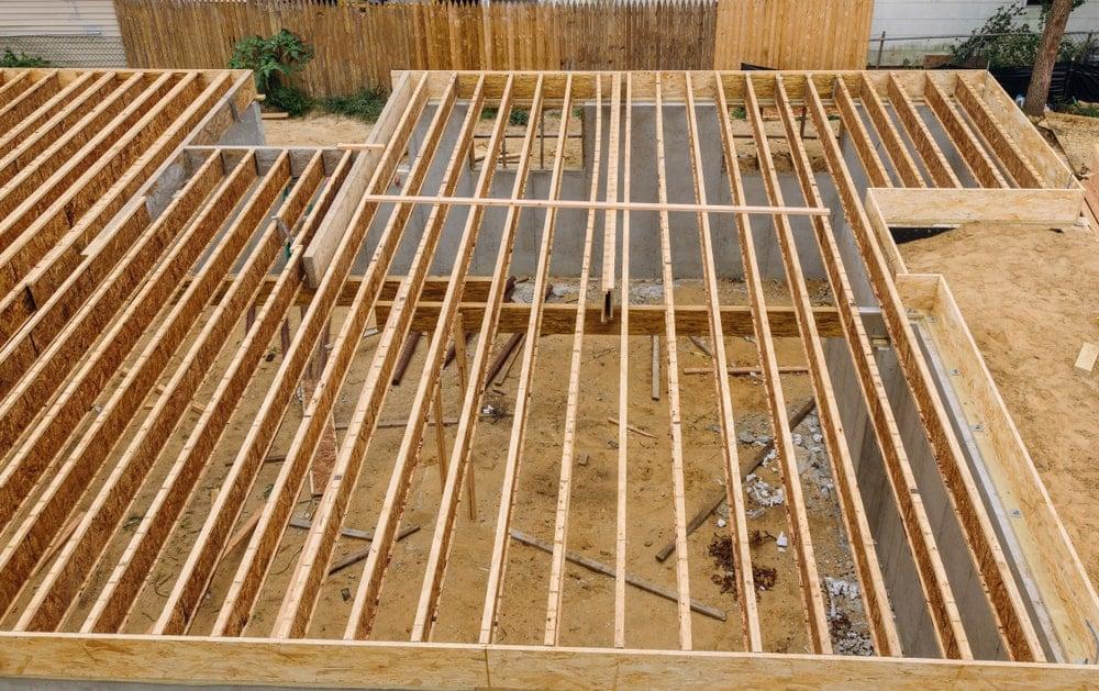 Wood framework
