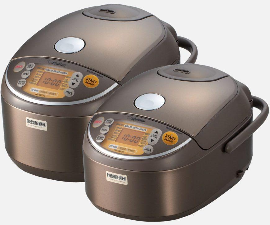 Zojirushi Induction Heating Pressure Rice Cooker & Warmer NP-NVC10/18