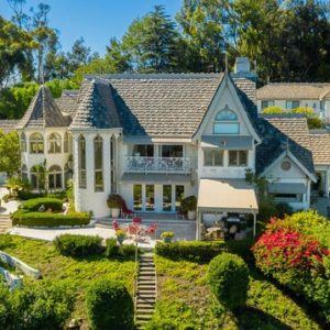 Victorian Style Luxury Estate with Unobstructed Malibu Ocean Views