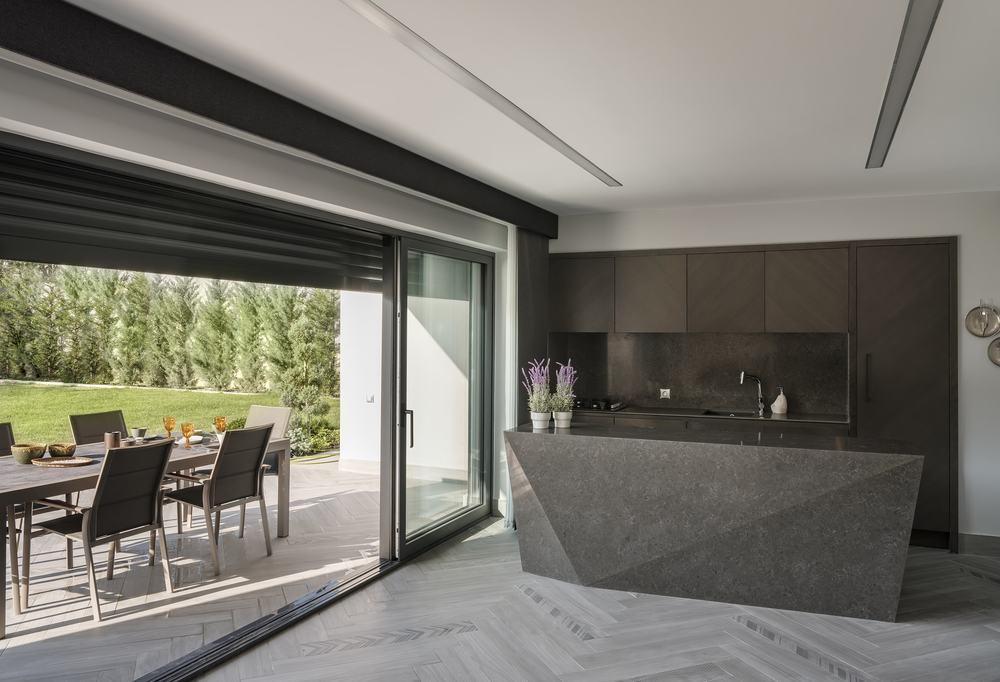 Patio, kitchen