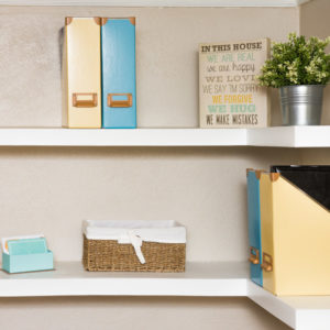 Example of a floating shelf