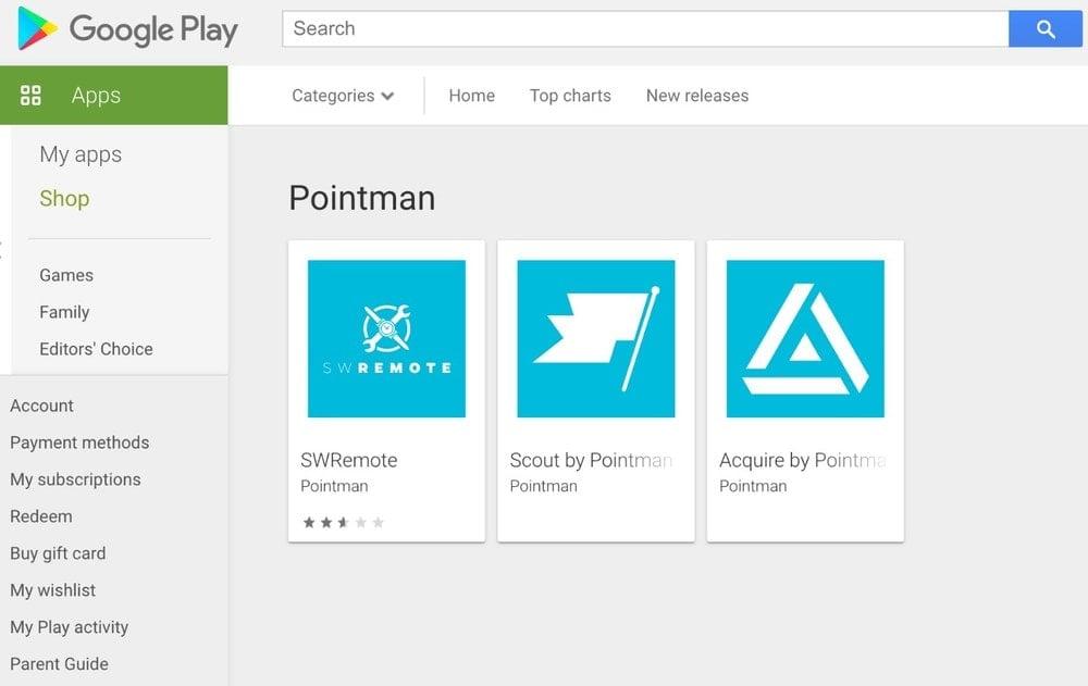 Pointman App
