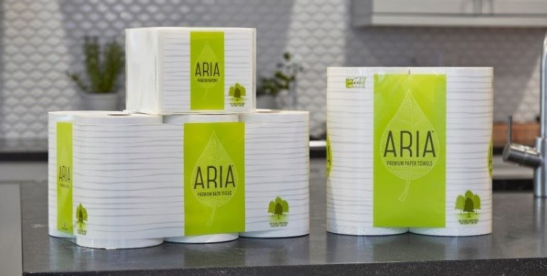 Aria toilet papers