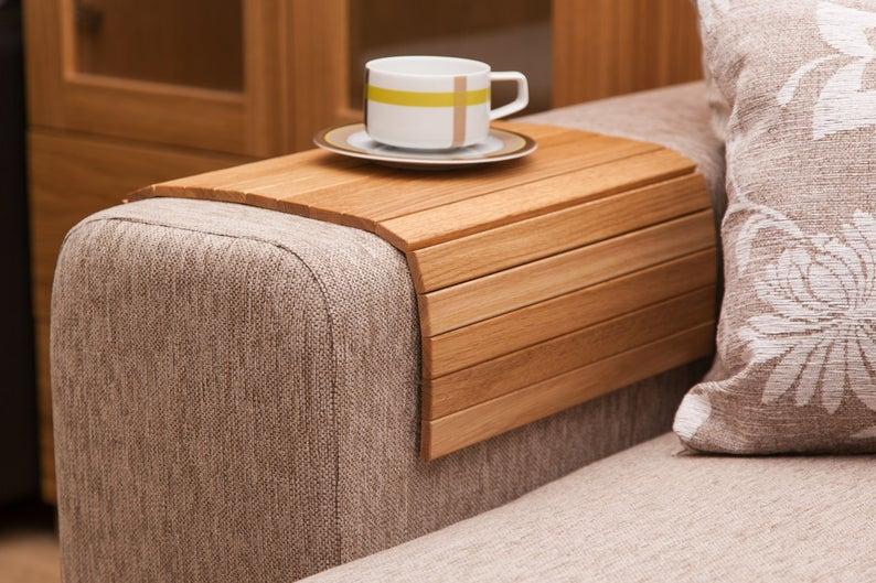 Sofa Armrest Table