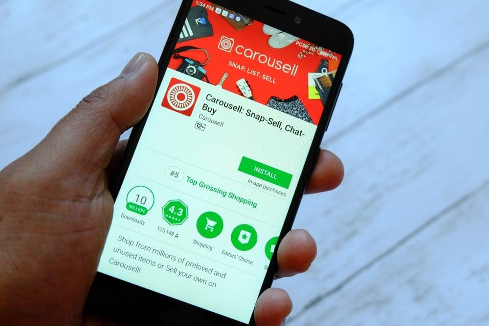 Carousell mobile app